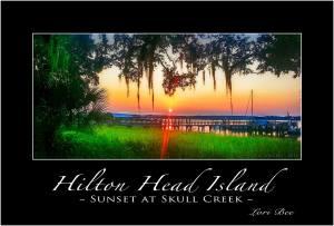Sunset at Skull Creek, Hilton Head Island, SC
