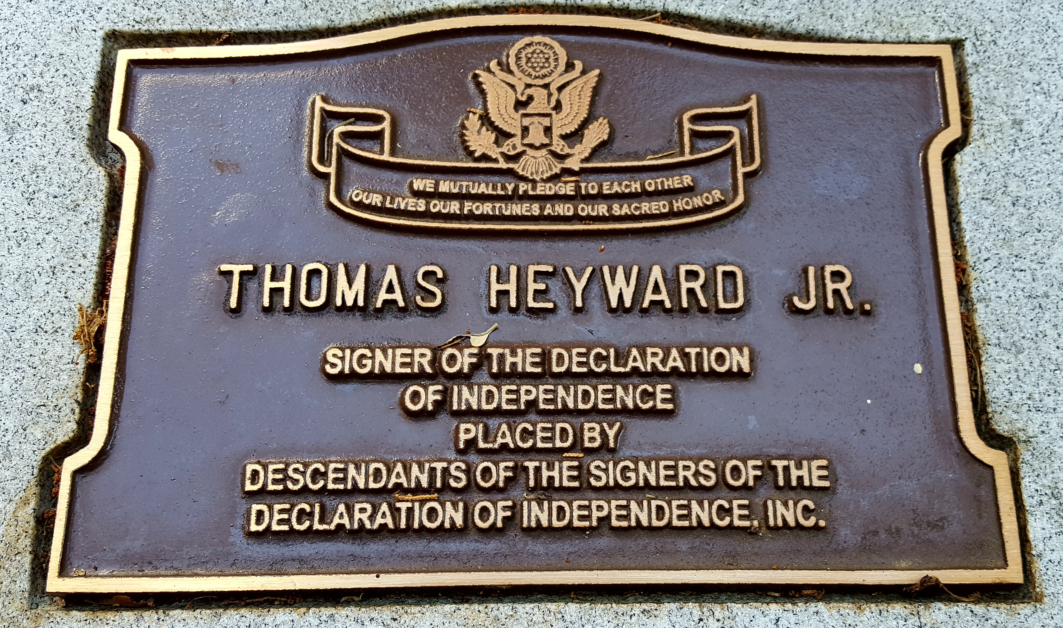 ThomasHeywardPlaque