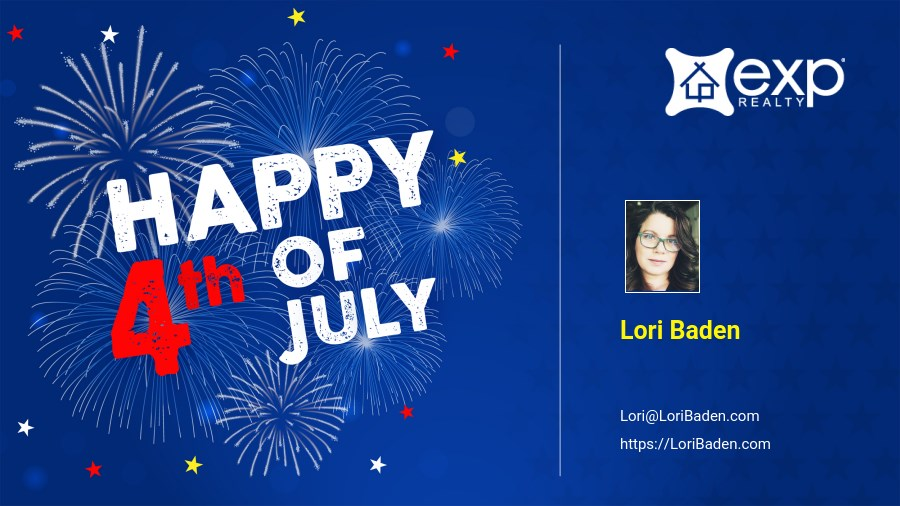 Happy Independence Day from Lori Baden